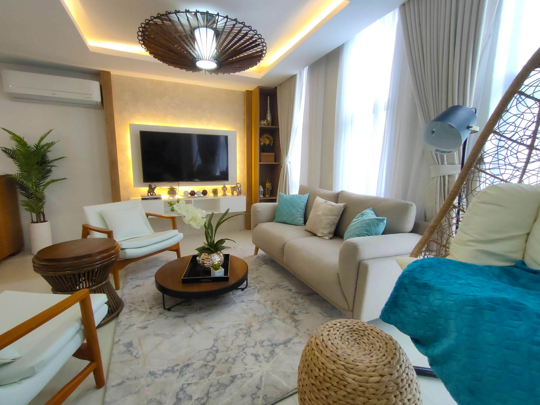 Brizlane Residences - Living Area