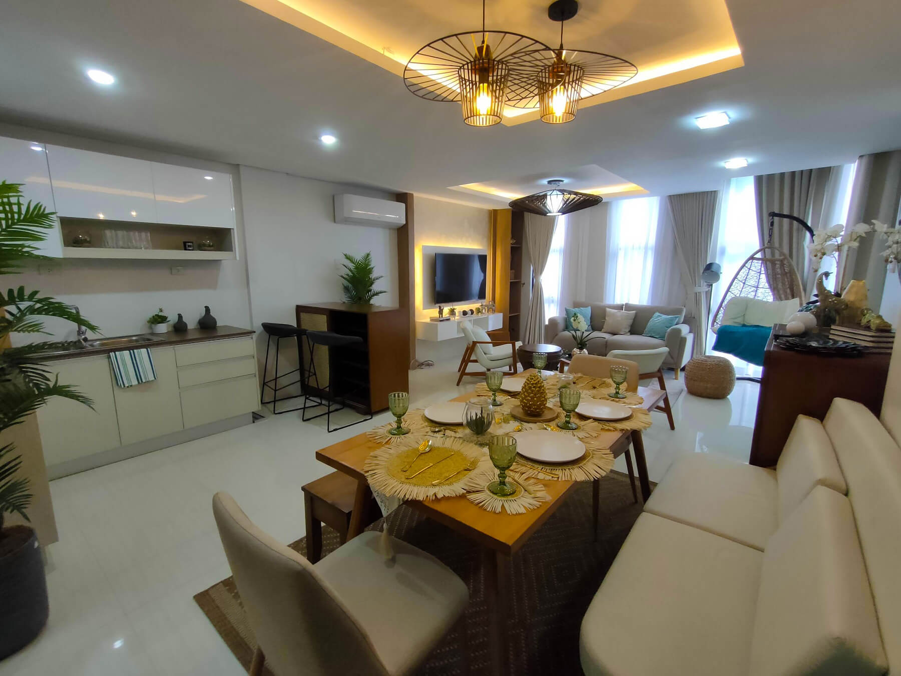 Brizlane Residences - Living Kitchen and Dining 2
